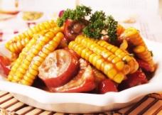 玉米棒猪尾图片