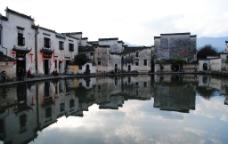 安徽宏村景色图片