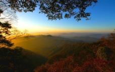 云雾山全景图片