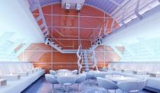 特色咖啡厅3D源文件下载图片