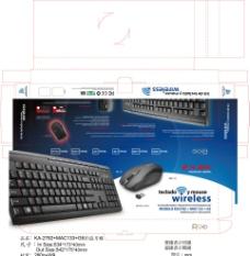 電腦鍵盤包裝圖片