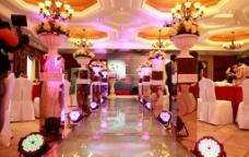 婚礼现场图片