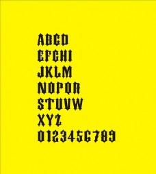 字母 数字 字母数字设计