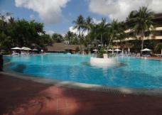 巴厘岛五星级酒店游泳池图片