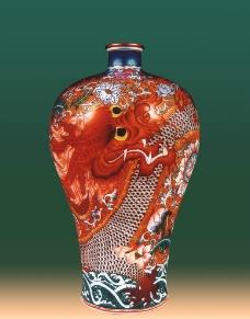 红龙瓶图片