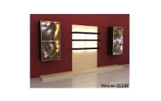 简洁电视背景墙3D模型免费下载