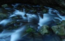 瀑布流水图片