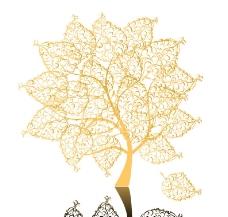 树叶 矢量图片