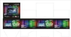 汽车DVD导航包装盒图片