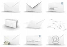 3D信封图片素材
