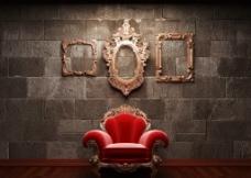 豪华椅子图片